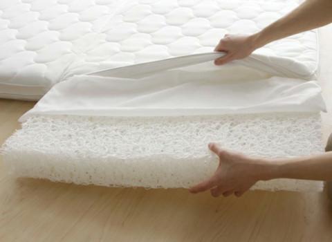 「樹脂繊維素材」高反発マットレス