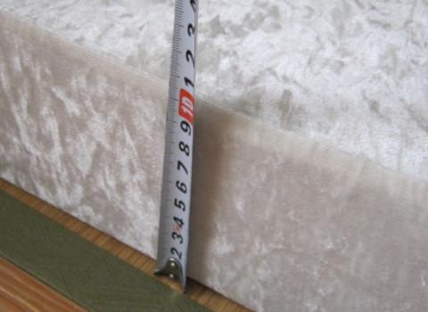 厚み10cmのマットレス