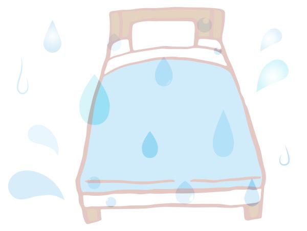 水浸しのマットレス